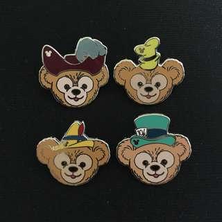 全新 迪士尼 Duffy 徽章