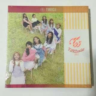 TWICE亲笔签名迷你3辑 TWICEcoaster : LANE 1 送小票海报礼物