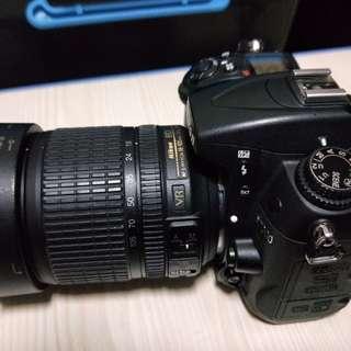 Nikon d7000 +18-185kit+美科手把