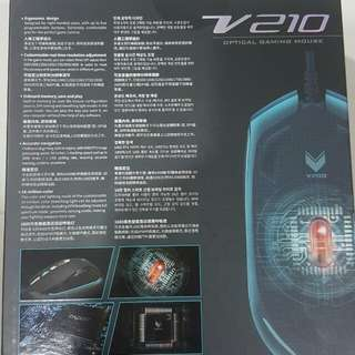 Brand new Rapoo Vpro V210 Optical Gaming Mouse