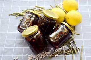 石斛川貝炖檸檬
