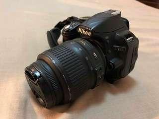 NIKON DSLR BLACK D3100