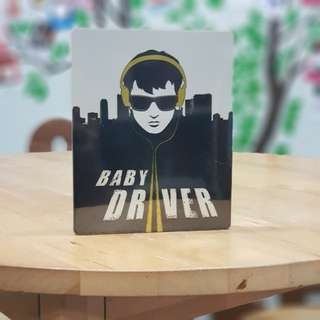 Baby Driver steelbook (4K UHD + Bluray + Soundtrack)