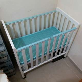C-Max BB床 嬰兒床 連床褥 22''x38''