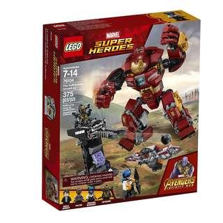 LEGO 76104 - Super Heroes the Hulkbuster Smash-up
