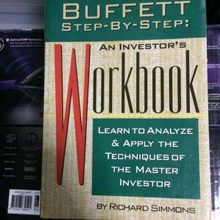 Buffett Step By Step An Investor Workbook By Richard Simmons