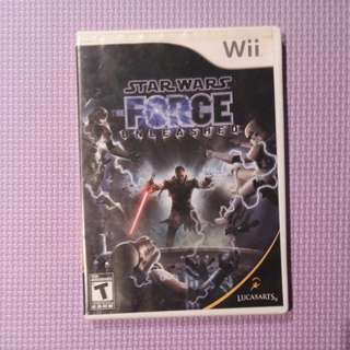 Star Wars game for Wii