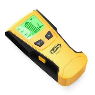 Dr.meter Stud Wall Sensor Finder Center-Finding with Live AC Wire Wood Scanner Warning Detection, Battery Included