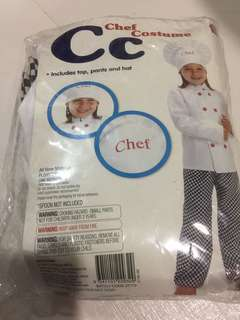 Chef costume for kids (pretend play)