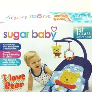 #momria Sugar Baby Infant Seat Bouncer Kursi Tempat Duduk bayi Baby Infant Seat Bouncer Kursi18 Tempat Duduk bayi