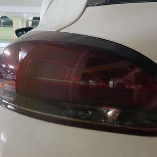 VW Scirocco Tinted Brake Lamps