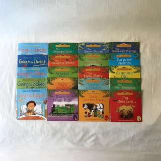 Usborne Farmyard Tales and First Experiences (20 titles)