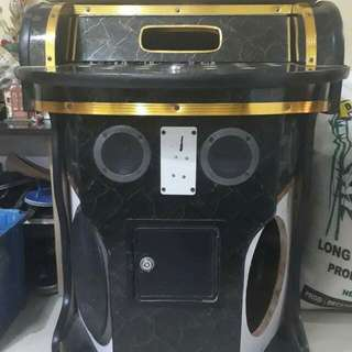 Videoke Casing with Complete Speakers