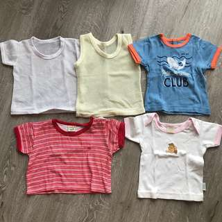 Baby boys Clothes top and jumpsuit 0-6 months