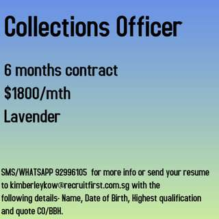 Collections Officer