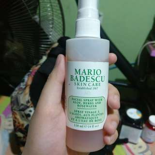 Mario Badescu Facial Spray + Nature Republic Mascara RUSH