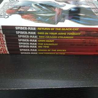 8 MARVEL THE AMAZING SPIDER-MAN TPB