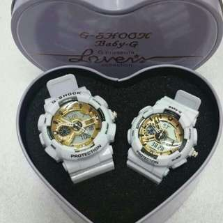 G shock thailand made couples waterproof