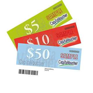 250 dollars worth of capital land mall voucher(reserved)