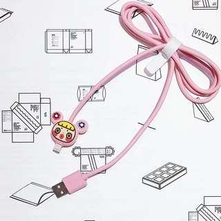 可愛卡通數據線 iphone cable