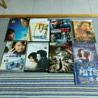 Many dvds