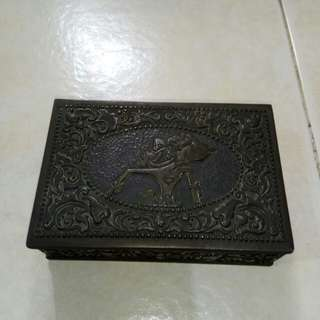 Antique Javanese Sliver jewellery box