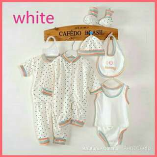 Set newborn - white