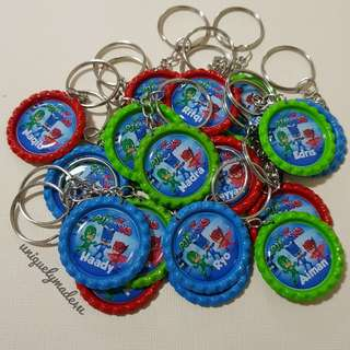 20 pcs Personalized Keychains (Reserved)