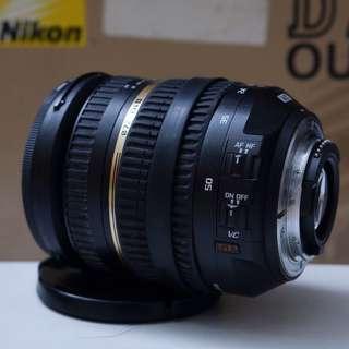 Lensa tamron 17-50mm f2.8 VC for nikon