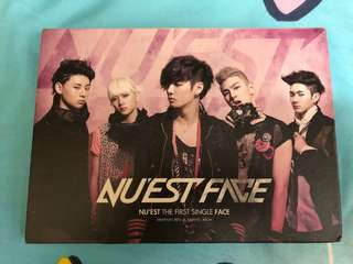 NU'EST 1st Single FACE