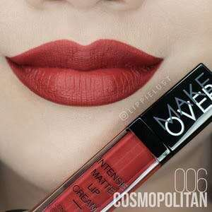 makeover intense matte lip cream shade 006 cosmopolitan