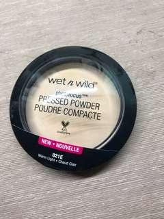wetnwild photofocus pressed powder