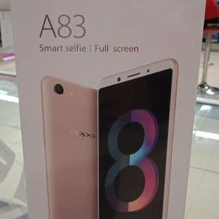 Oppo A83 promo cicilan dp 15%
