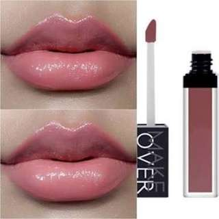 makeover liquid lip color pink flare