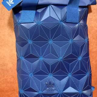 Adidas 3D Roll Top Backpack (Navy Blue)