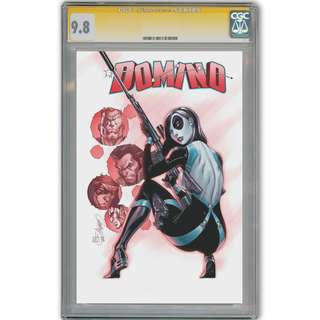 Pre- sale DOMINO #1 J Scott Campbell 1:50 Variant