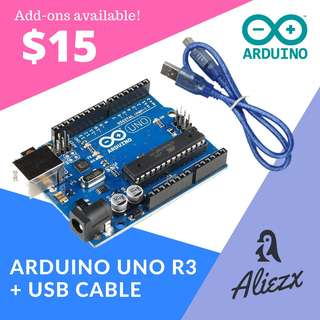 [COMING SOON] Free USB Cable and Normal Mailing! - Arduino Uno R3 ATMEGA328P
