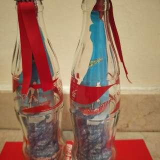 (Giftaway)Coca Coka Empty Glass Bottle