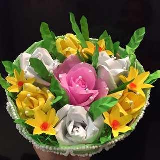 Paper Flower bouquets / decorations / paper craft