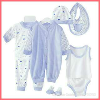 Set newborn - blue