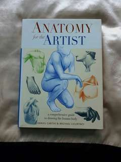ANATOMY FOR THE ARTIST: A COMPREHENSIVE GUIDE TO DRAWING THE HUMAN BODY
