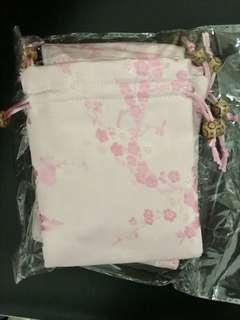 Sakura silk mini bag