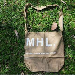 必買 日版 MHL 2 ways large tote bag 袋 apc bathing ape