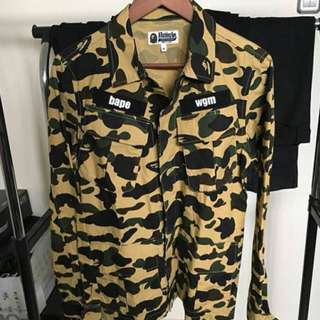 Bape Army Shirt