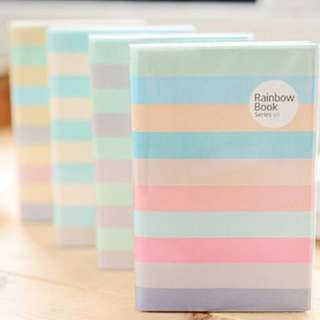 Brand New Rainbow Notebook (NB009) X 2