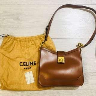 Authentic Celine vintage handbag shoulder bag rare