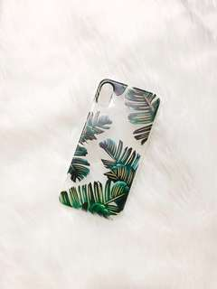 Iphone X Case - Golden Leaves