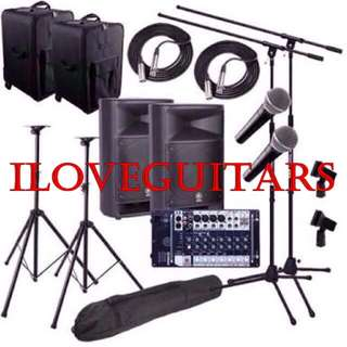 Great Yamaha Stagepas PA System for events