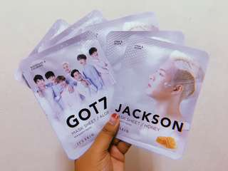 [READYSTOCK] GOT7 It's Skin Mask Sheet