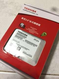 全新未開封TOSHIBA 1TB 3.5吋硬碟